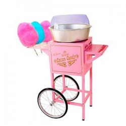 Cotton candy no cart
